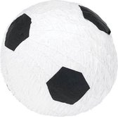 """Piñata voetbal - Feestdecoratievoorwerp - One size"" - Wit   Zwart"