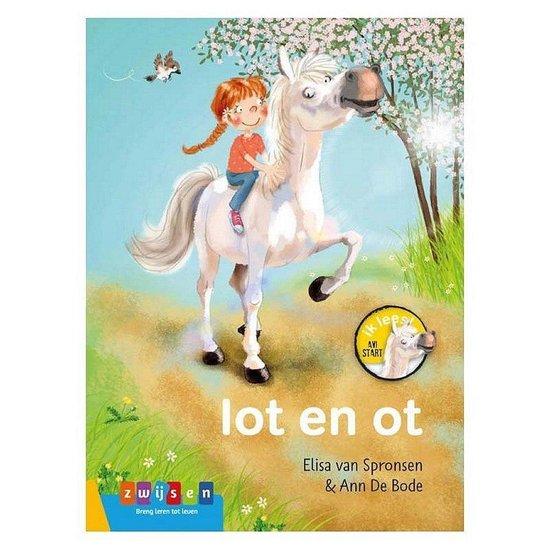 Boek cover AVI Start Ik Lees! Lot en Ot van Elisa van Spronsen (Hardcover)