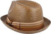 Brixton hoed castor Roestbruin-M (57-58)