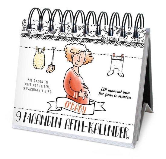 Boek cover 9 maanden - Aftelkalender van Pauline Oud (Hardcover)