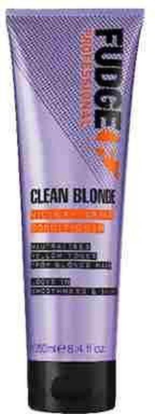 Fudge Clean Blonde Violet Toning Shampoo - 250 ml