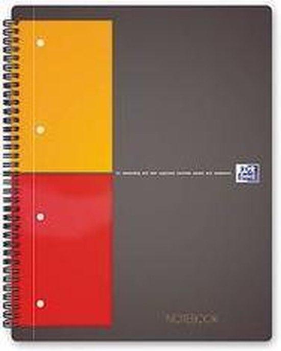 Oxford International Notebook A4+ 5mm ruit 80pagina's - Scribzee compatibel