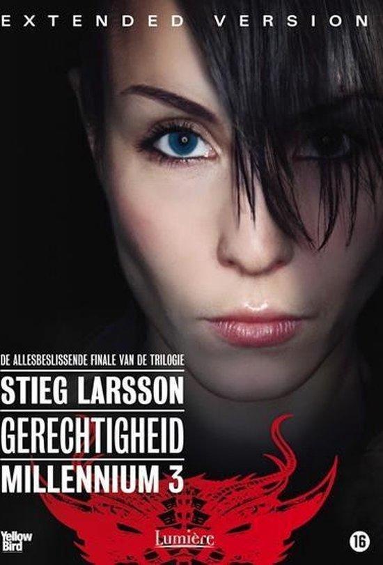 Cover van de film 'Millennium 3: Gerechtigheid'