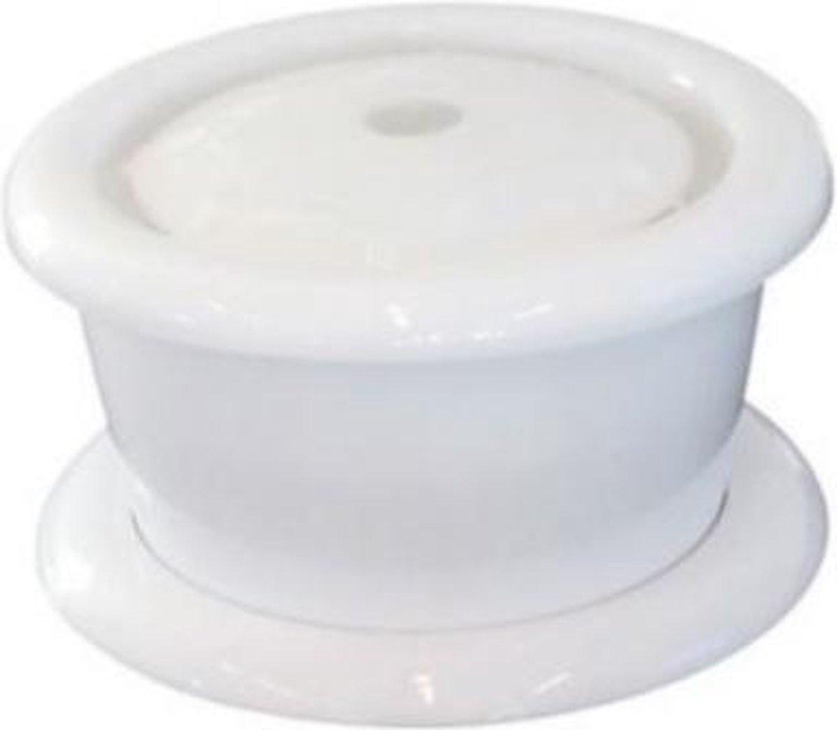 M-pets Drinkfontein 2 Liter 24,5 X 13,5 Cm Wit