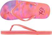 Xq Footwear Teenslippers Meisjes Roze/oranje/paars Maat 33-34