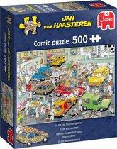 Jan van Haasteren In De Autospuiterij puzzel - 500 stukjes