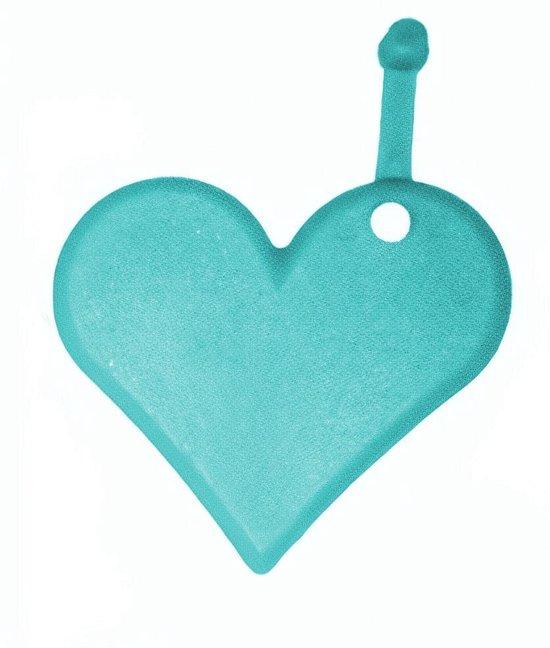 Amscan Ballongewicht Hart Junior Turquoise 8 Gram