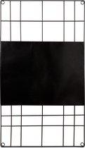 vtwonen - Memobord - Magnetisch - Zwart - 60x105 cm