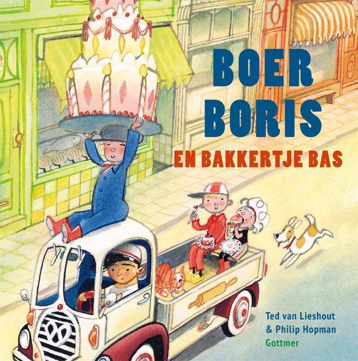 Boer Boris  -   Boer Boris en bakkertje Bas