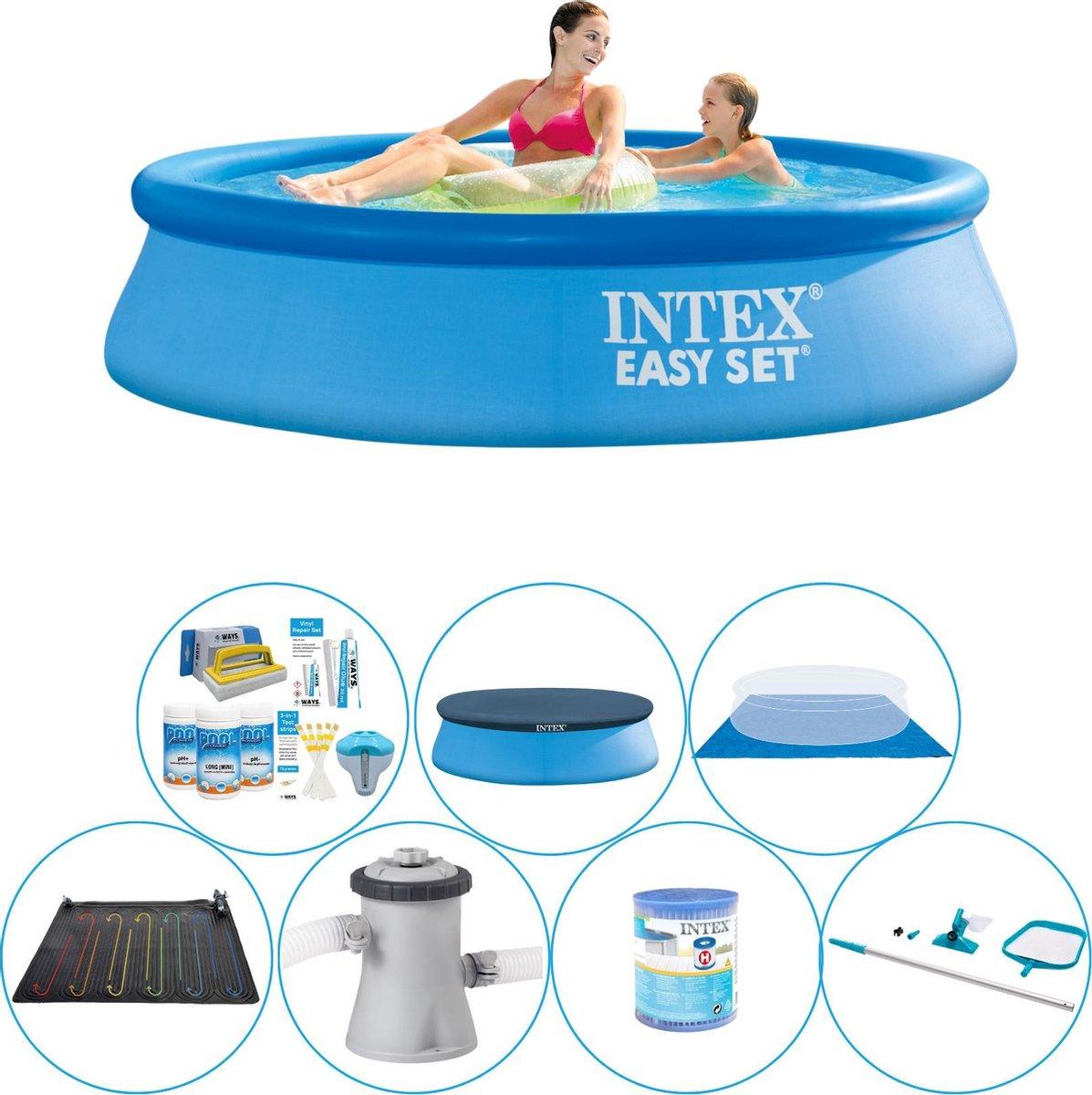 Intex Easy Set Rond 244x61 cm - Zwembad Pakket