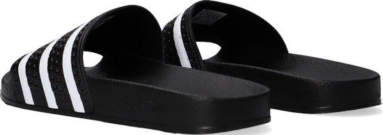 adidas Adilette Heren Slippers - Core Black/White/Core Black - Maat 44.5