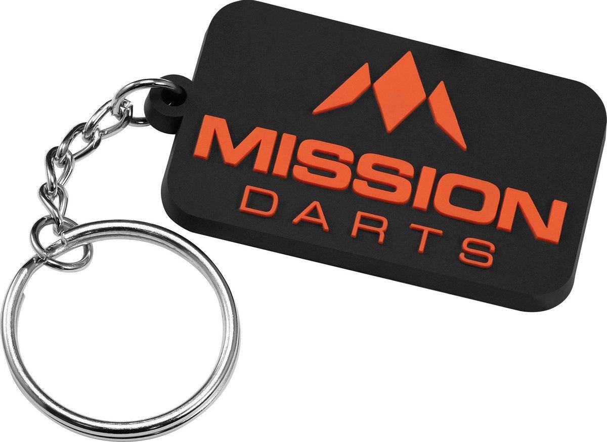 Mission Logo Keyring - Blauw