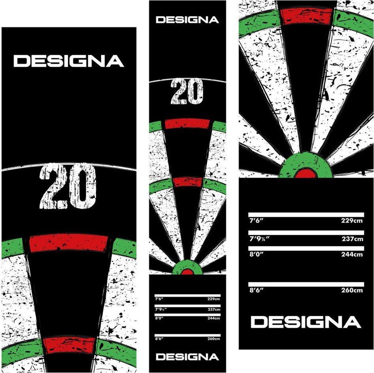 Designa Dartbord Carpet Mat 290x60