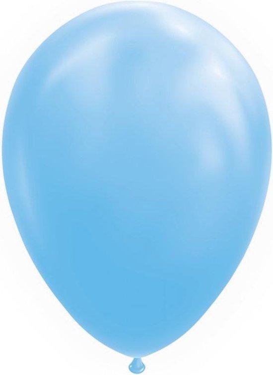 Wefiesta Ballonnen 30 Cm Latex Lichtblauw 10 Stuks