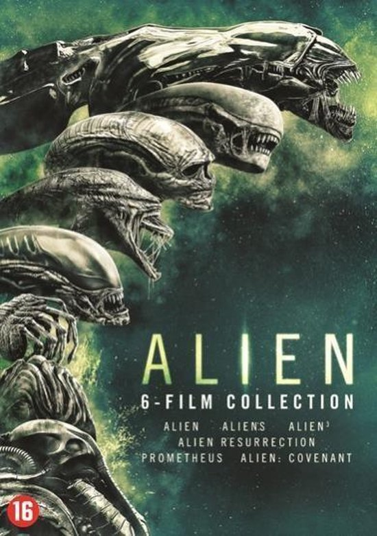 Alien 1 t/m 6 Boxset