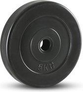 RS Sports Halterschijf - Kunststof - 1x 5 kg - Ø 30 mm