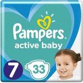 Pampers Active Baby Maat 7 - 33 Luiers