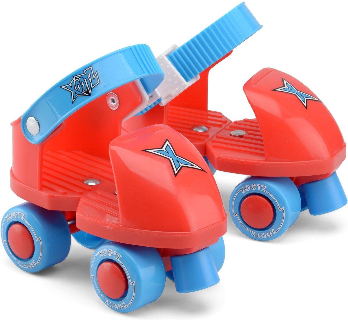 Xootz Rolschaatsen Infant Trainer Junior Rood/blauw Maat 21/27