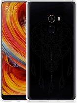 Xiaomi Mi Mix 2 Hoesje Dream Owl Mandala Black