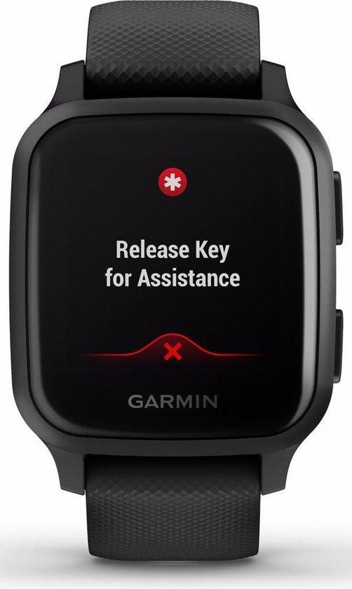 Garmin Venu Sq Music - Smartwatch - Zwart