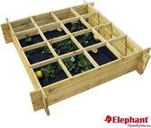 Elephant - moestuinkader - moestuin - 100x100 cm