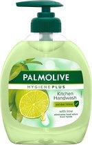 6x Palmolive Vloeibare Handzeep Hygiëne-Plus Anti Bacterieel Keuken 300 ml
