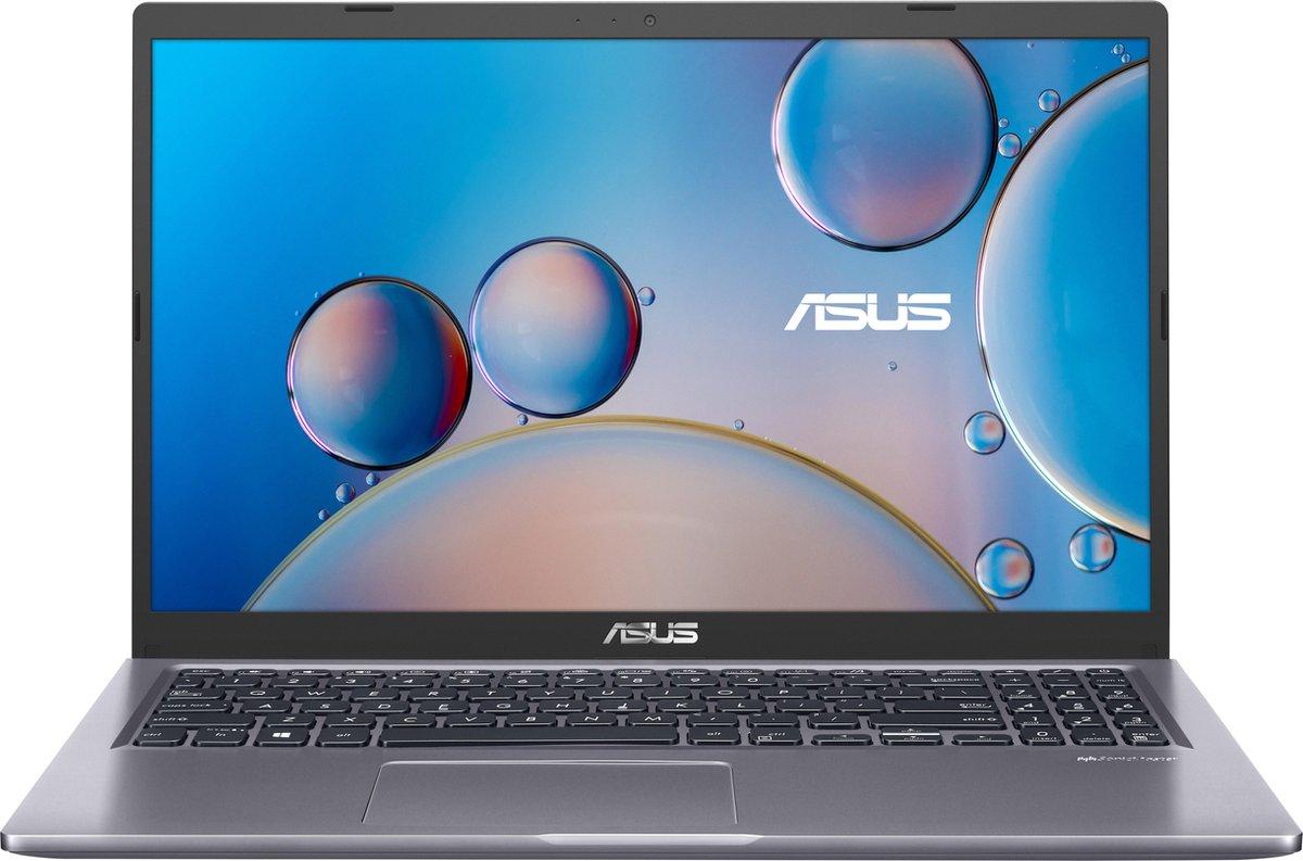 """ASUS X515JA-BQ041T DDR4-SDRAM Notebook 39,6 cm (15.6"""") 1920 x 1080 Pixels Intel® 10de generatie Core™ i3 8 GB 256 GB SSD Wi-Fi 5 (802.11ac) Windows 10 Home S Grijs"""