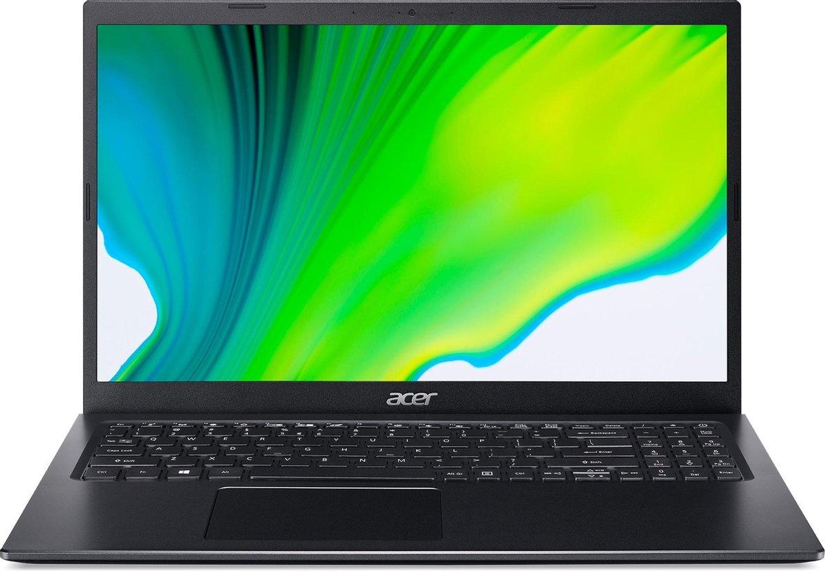 "Acer Aspire 5 A515-56-33NT Notebook 39,6 cm (15.6"") 1920 x 1080 Pixels Intel® 11de generatie Core™ i3 8 GB DDR4-SDRAM 512 GB SSD Wi-Fi 6 (802.11ax) Windows 10 Home Zwart"