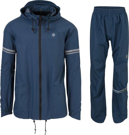 AGU Original Regenpak Essential - Blauw - M