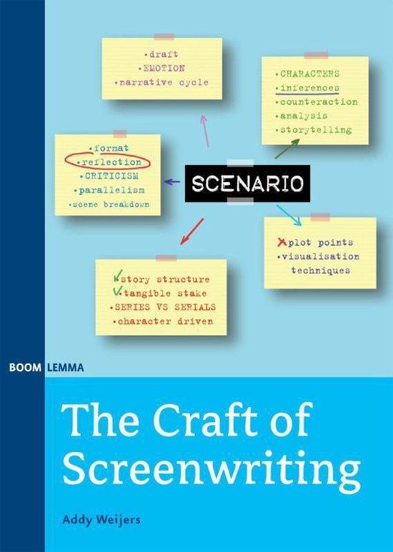 Boek cover The craft of screenwriting van Addy Weijers