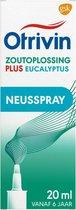 Otrivin Plus Eucalyptus - zoutoplossing- 20 ml - Neusspray