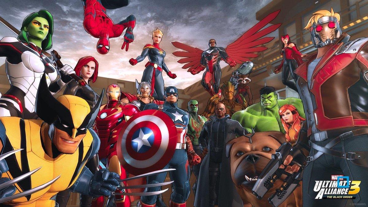 bol.com | Marvel Ultimate Alliance 3: The Black Order - Switch | Games