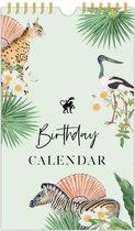 Birthday Calendar - Verjaardagskalender - Geen jaartal - 30 x 18cm - Ringband - Nederlands Ontwerp  - Creative Lab Amsterdam