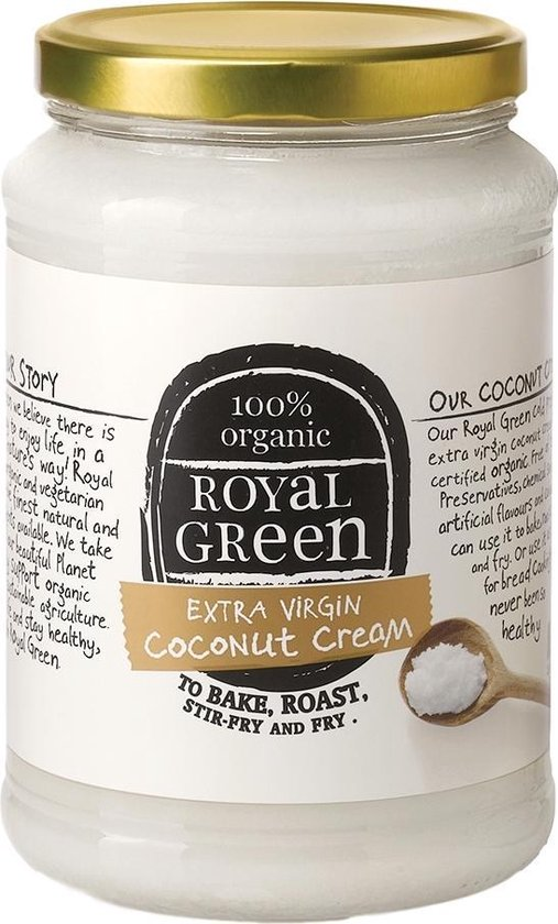 Kokosolie - Royal Green Kokoscreme - Extra Virgin - 325ml