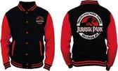 Jurassic Park - Black and Red Men's Jacket - XL