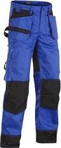 Blaklader Werkbroeken met kniestukken Korenblauw/ZwartNL:60 BE:54