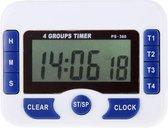 PS-360 4 groepen wekker Timer digitale keuken Countdown