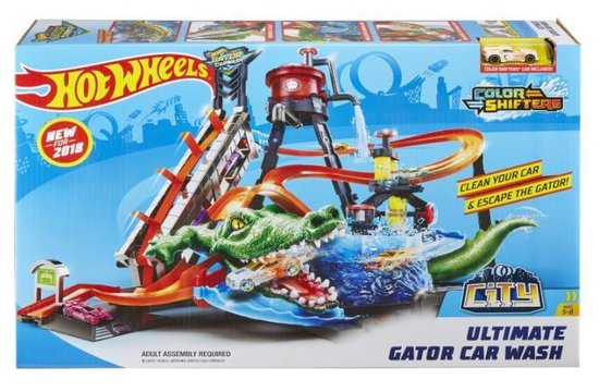 Toychamp | Hot Wheels City Mega Car Wash