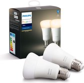 Philips Hue Duopack - White - E27 - 2 Lampen - Bluetooth