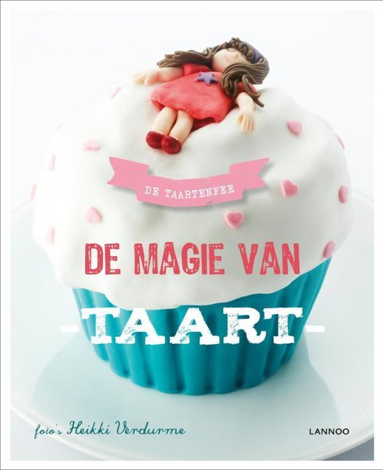 Cover van het boek 'De magie van taart' van de Taartenfee