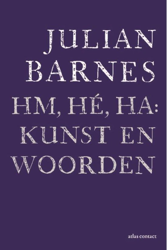 Hm, hé, ha: kunst en woorden - Julian Barnes |