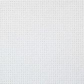 Aida borduurstof 14 count wit - coupon van 50 x 60 cm