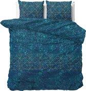 Sleeptime Doxy - Dekbedovertrekset - Tweepersoons - 200x200/220 + 2 kussenslopen 60x70 - Turquoise