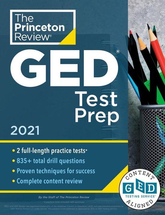 Boek cover Princeton Review GED Test Prep, 2021 van The Princeton Review (Onbekend)