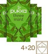 Pukka Three Mint Thee - 4 x 20 zakjes