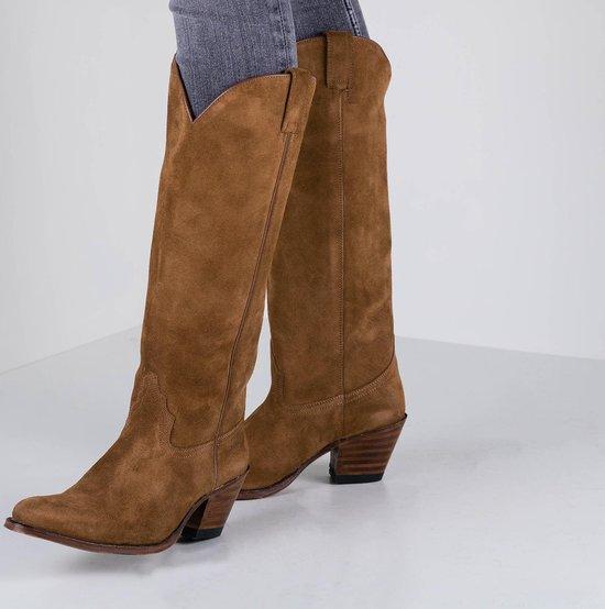 Sendra Dames Cowboylaarzen 6592 - Cognac - Maat 41 g4z4huxn