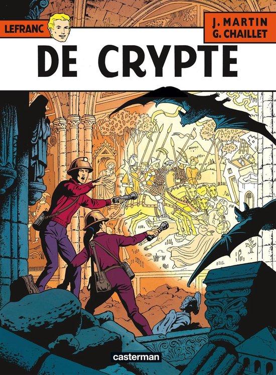 Lefranc 009 De crypte - Gilles Chaillet |