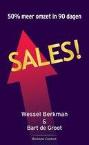 Boek cover Sales! van Wessel Berkman
