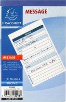 20x Notitieboekje 10x16cm - telefoonboodschappen (1 per blad) - 100 bladen