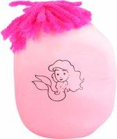 Toi-toys Stressbal Zeemeermin Roze 8 Cm